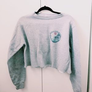 Brandy Melville Cropped Pullover